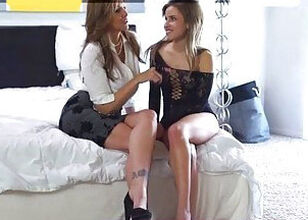 Hot mom and teen
