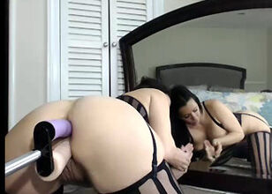 Girls double dildo